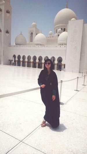 Black & White Amazingday Mosque Abu Dhabi 2014