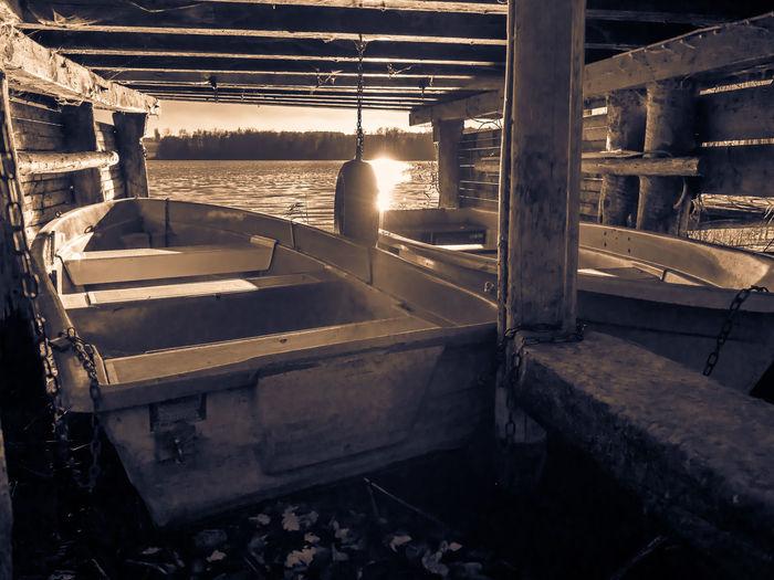 Boats⛵️ Boote Lake View Outdoors Sea Sun Wood Olympus OM-D E-M5 Mk.II