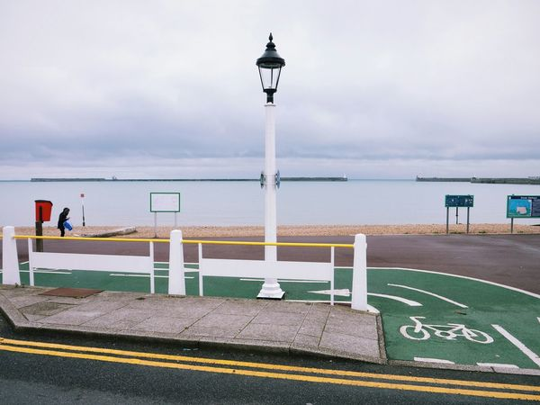 England Dover Seaside Beach Street Lamp Showcase: November Pastel Power Landscapes With WhiteWall The Great Outdoors With Adobe The Great Outdoors - 2016 EyeEm Awards People Of The Oceans Fine Art Photography Colour Of Life People And Places