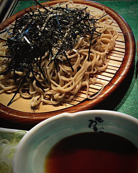 蕎麦 そば Japanese Soba 天ざる蕎麦
