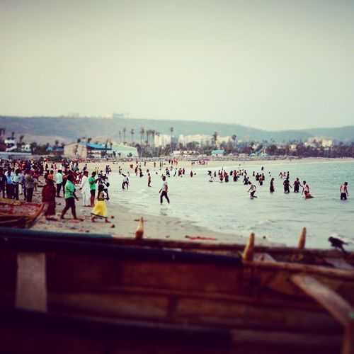 Beach Evening Rushikonda Loads Of Fun Vizag Trip