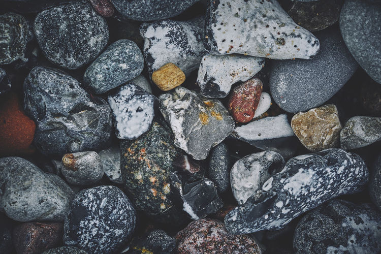 On the coast of Rügen, Germany Nature Rügen Wallart Backgrounds Bottom Day Fujifilm Germany Gery Macro Stone X-t2