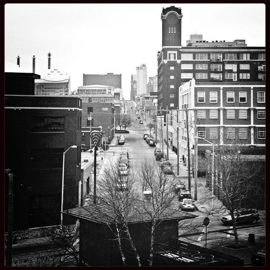 Cityscapes EE_Daily: Black And White Sunday This Is Where I Live... KC Through KCe