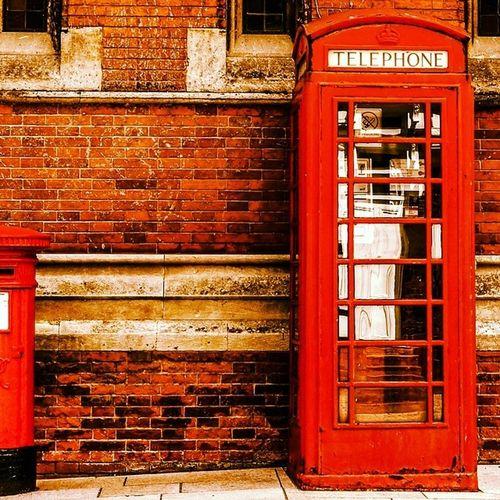 Vintage London England Iloveengland Telephone Red 1977