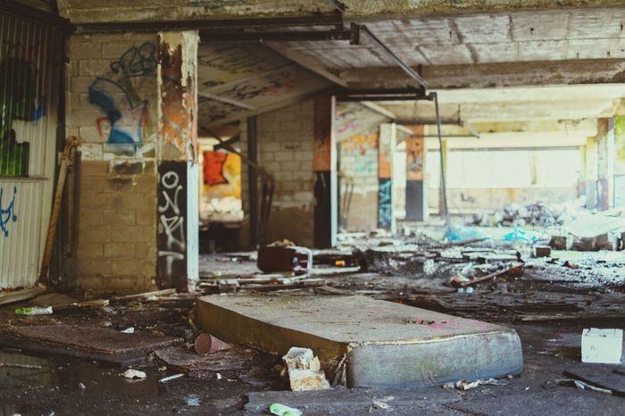Urban Decay Abandoned Places Grafitti
