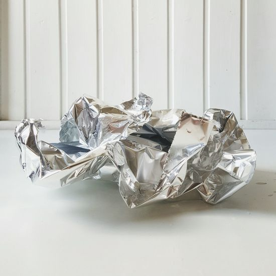Being creative 2/4 Aluminium Foil Silver  EyeEm Best Shots Vertical Shot White Background White Wall Creating Art Shades Of Grey Splashing Water Wet Floor Modern Art At Home Textures And Surfaces Pattern Pieces Crumble Kinking Waterdrops Reflections Minimalism No People Full Frame Creative Process Being Creative Abstractart Showcase June