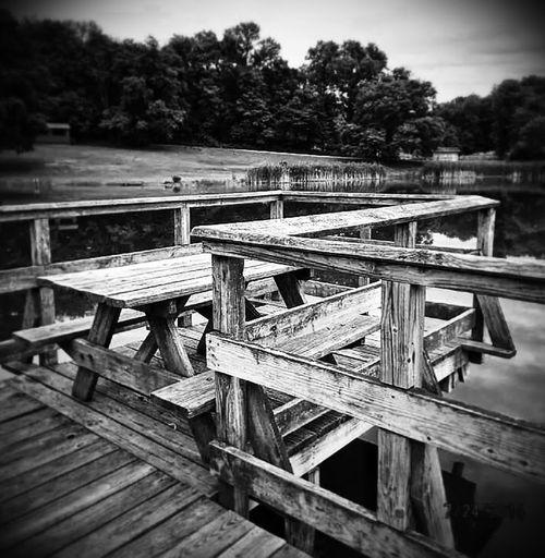 The EyeEm Facebook Cover Challenge EyeEm Best Shots Taking Photos Monochrome Picnic Area Lakeshore