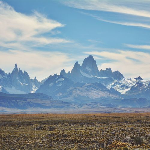 Patagonia Argentina Santacruz Fitzroy Beauty In Nature Power In Nature Chalten People Nature Dramatic Sky
