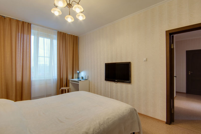 Bed Furniture Domestic Room Bedroom Indoors  Lighting Equipment Home Interior Wealth Luxury No People Hotel Architecture Home Modern Home Showcase Interior Absence Entrance Illuminated Door Pillow Hotel Room Electric Lamp Ceiling