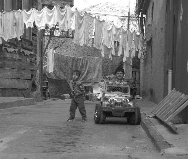 Blackandwhite Black & White Children Playing Streetphotography Streetphotography_bw Istanbul #turkiye