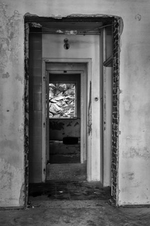 #architecture #exploration #old #whatremains Abandoned Architecture Built Structure Entrance Indoors  No People