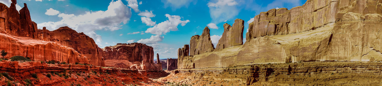 Day Geology Landscape Large Mountain Nature No People Outdoors Panoramic Rock - Object Rock Formation Scenics