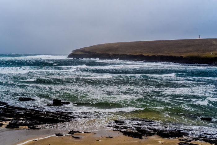 Orkney Orkney Orkney Islands Scotland Sea Water Sky Wave Beach Land Beauty In Nature No People Power In Nature Spirituality EyeEmNewHere EyeEmNewHere