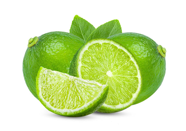 lime with leaf