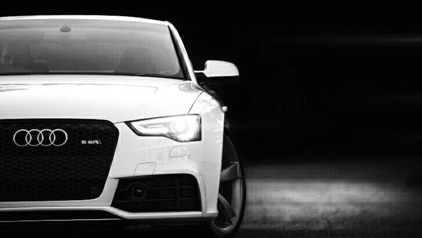 Audi Black And White