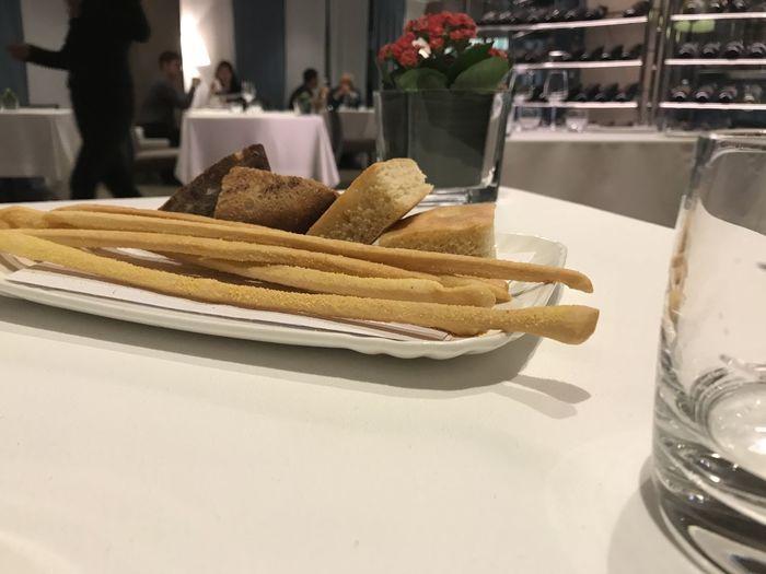 Michelin Star Bread Focaccia Grissini Grissinificio Pane E Focaccia Pane Fatto In Casa Tavola E Pane Tovaglia E Pane
