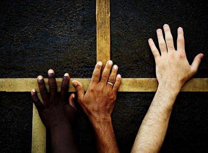 #no_racism #muslim Human Hand