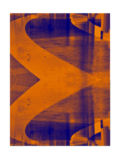 Westfield Centre 4 San Francisco Downtown Abstract Photography Artistic Rendering Abstract Lowlight Orange Gradient Monochrome Photograhy Monochrome Reflections Reflected Glory Ambient Light Upscale Urban Shopping Mall Mall Interior Tiles Floors Geometric Patterns Pattern Pieces