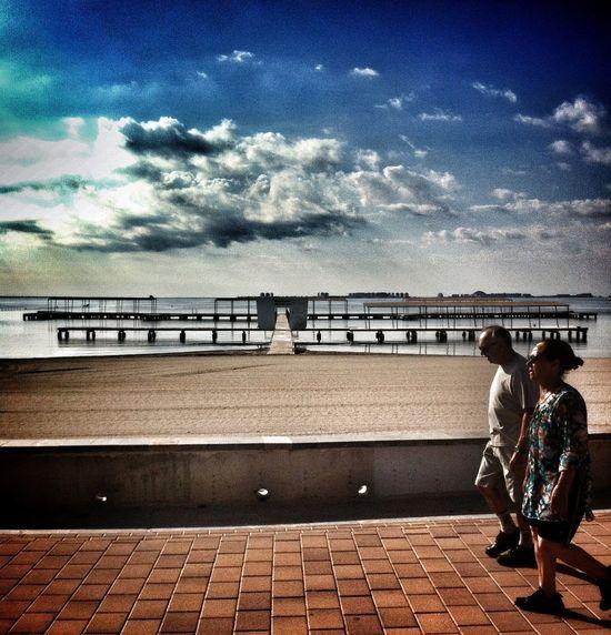 Seres Perranos :Walking balneario.