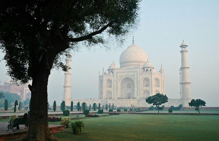 Taj Mahal Landscape_photography Beautiful Tajmahalphotography IndiaTrip Taking Photos Tajmahal From Agra Fort Memories ❤ Agrabeauti Hdrphotography MyClick Mypic Agratrip Loveit❤ Beautifulview
