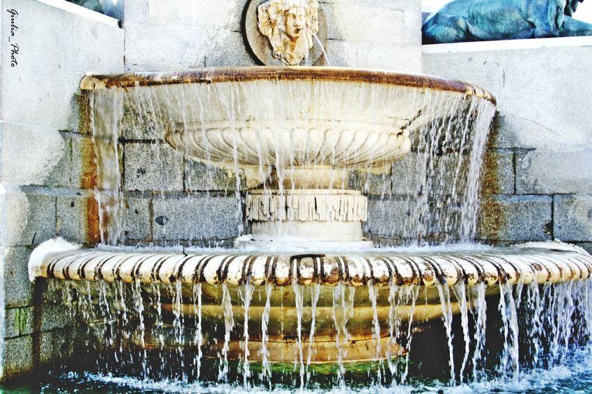 Madrid ❤ España🇪🇸 Fountain Water Fuente