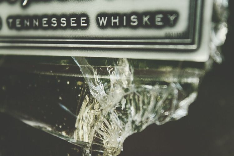 Broken Glass Whiskey Bottle Shot EyeEm Best Shots - Macro / Up Close Tennessee Gentlemanjack