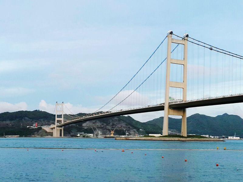 2015 Life In Hong Kong · Nature Photography Enjoying Life Photooftheday Sea And Sky Tsing Ma Bridge Hong Kong Ma Wan