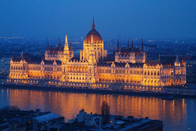 Architecture Budapest Building Exterior Built Structure Capital Cities  Cathedral City Community Dome Façade Famous Place Geometry History Horizontal Symmetry Human Settlement International Landmark Large Group Of People Old Town Parliament Place Of Worship Residential District Symmetry Town Square