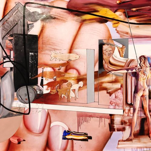 Indoors  One Person Lifestyles Human Representation Leisure Activity Creativity Women