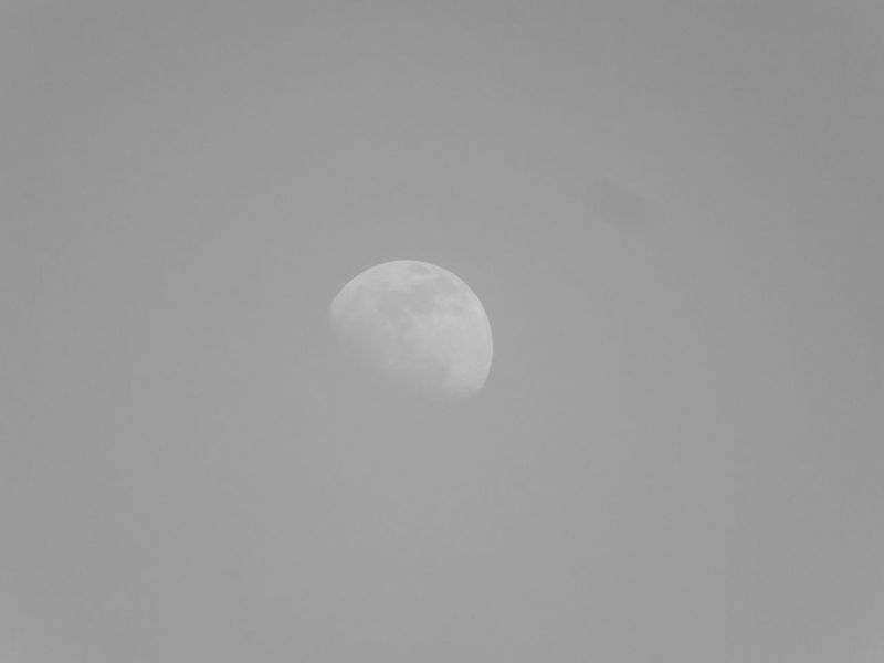 Moon Sky Moon Black And White Moon Shots