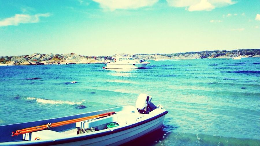 ☀️☀️ Relaxing Sun ☀ Boat Sea View