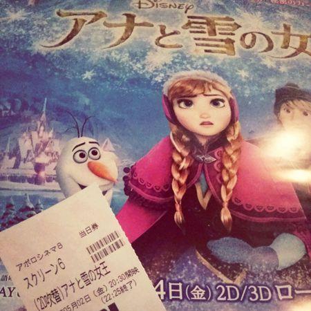 アナと雪の女王 MOVIE Walt Disney
