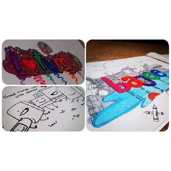 Baboy. Doodle Drawings Throwback Sketchpad Feeler