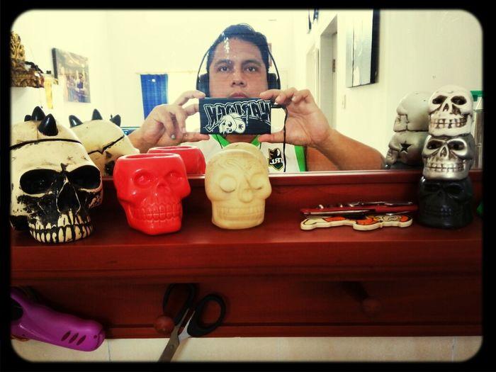 Skullhead Morningactivity Thatsmerightthere Indoor Photoshoot