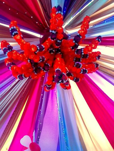 Awesome decor :) Indian Wedding Decorations Colorful Indian