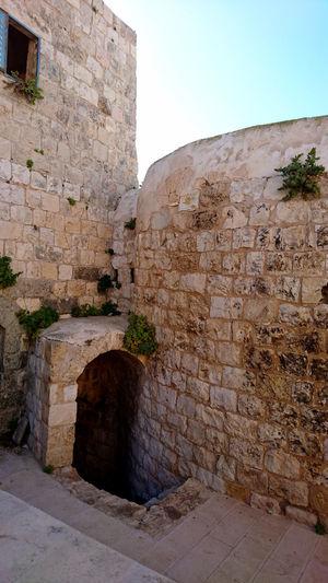 Architecture Built Structure Castle Historic Building History Kur Castle Palestine Tulkarm
