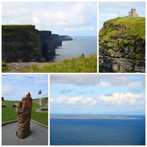 Ireland. Cliffs of Moher. Holiday Traveling Sight