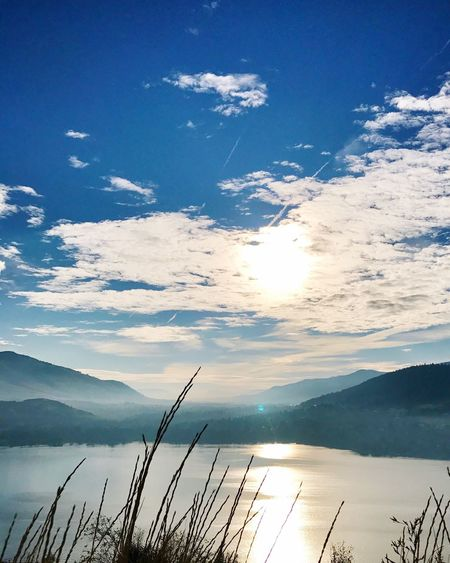 Sky Beauty In Nature Scenics - Nature Tranquil Scene Tranquility Water Cloud - Sky Idyllic Nature No People Lake Blue Day Outdoors EyeEmNewHere