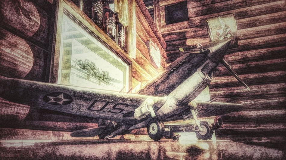 Close-up Indoors  Modelplane Curtiss P-40