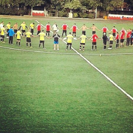 Campeonato interno no clube, semifinal jogo pegado !! Futebol Paixão Amizade Confraternização felicidade campeonato instalike soccer love