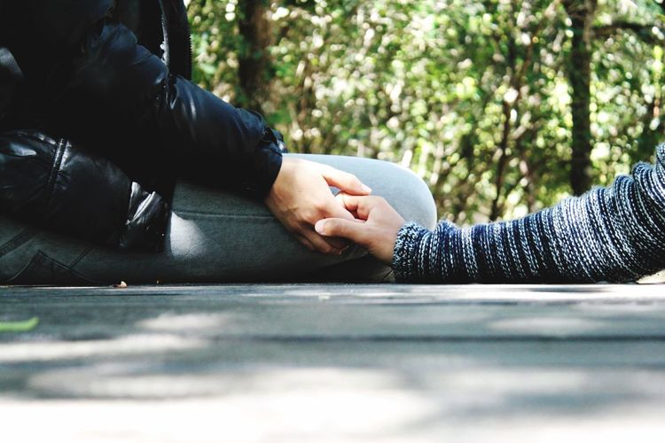 Couple ❤️ Together Forever Boy And Girl We Are Young Couple - Relationship Couple Youandme Meandyou Love Lifestyles Day Real People Leisure Activity Lying Down Relaxation Tree Human Body Part Selective Focus Adult Body Part Nature Hand Human Hand Plant Outdoors