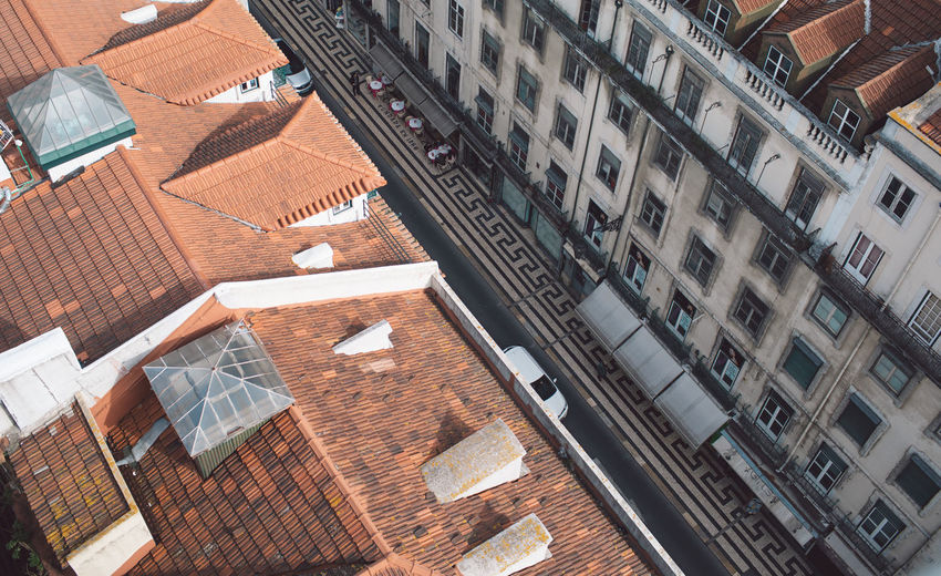 Lisbon Lisboa Lisboa Portugal Lisbon - Portugal Portugal Architecture Built Structure Building Exterior Building Roof City Window Residential District High Angle View No People Day Town House Outdoors Roof Tile Nature City Life Modern Apartment Sunlight