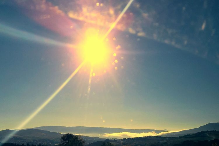 Sunlight Sun Of Limoux Beauty In Nature Sky Sun Nature Sunbeam Landscape