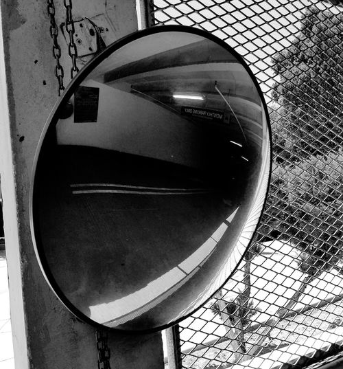 Close-up Mirror Low Angle View Blckandwhite B&w Black & White Black And White Photography Black And White Blackandwhite