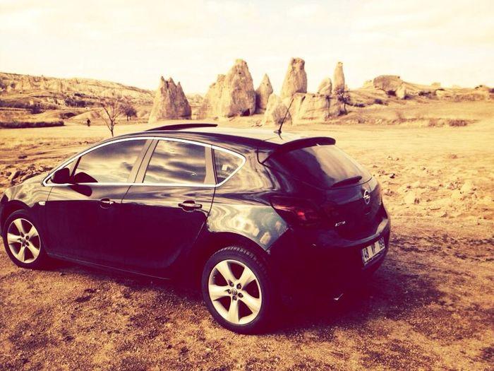 My Car Opel Astra RePicture Femininity Popu!ar Photos Kapadokya
