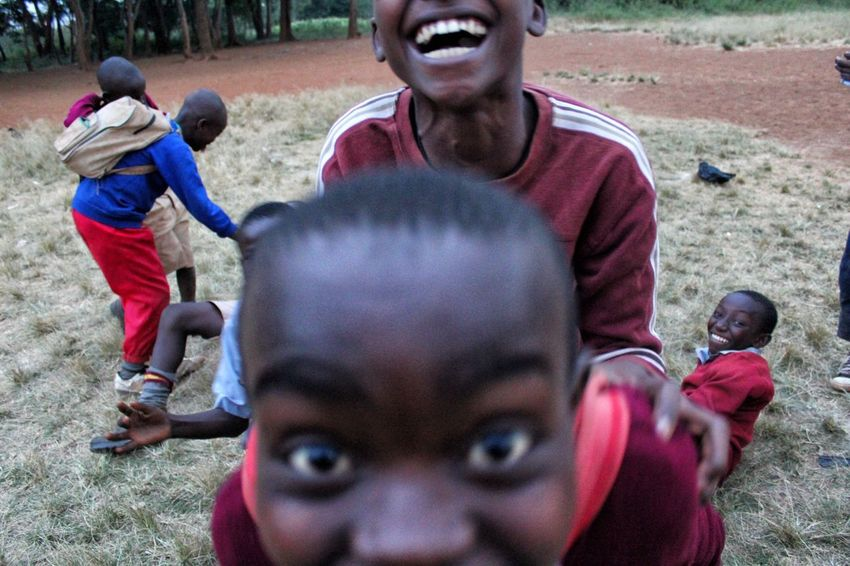Laughter. Cheese! Enjoying Life Color Photography Nairobi Kibera Africa Children Portraits Children Playing Children Photography Playing Canonphotography Canon Childhood Eyes Children Kenya Smiles Laughter Happiness