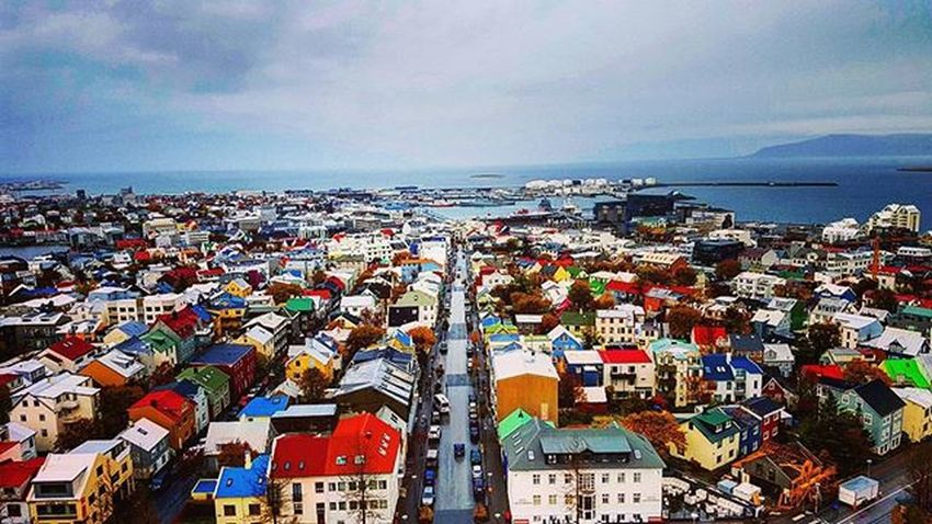 The beautiful town of Reykjavik :) Whyiceland