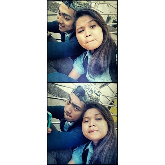 Tb Afterexam Mukatahpape LantakAh Rasamcmcomel hahaha with this boy that always be there for me. Thankyou :) .