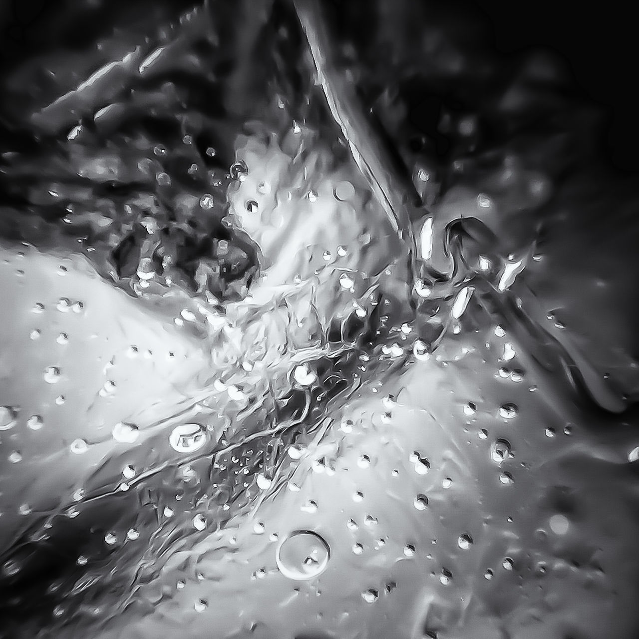 FULL FRAME SHOT OF WATER DROP ON LEAF