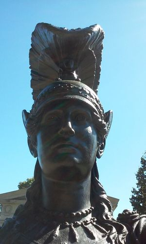 Greenwood Cemetery Sunset Park Statue